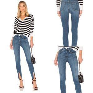 Rag & Bone Yuki Skinny Bone Bar Jeans Size 32